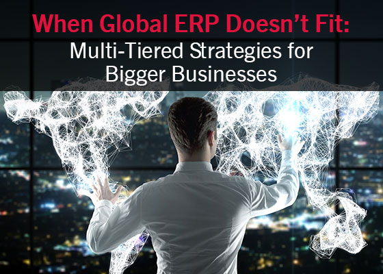 When Global ERP Doesn't Fit  Multi-Tiered ERP Strategies for Bigger Businesses