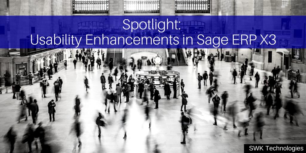[Sage ERP X3 V7首推]聚焦:Sage ERP X3易用性的增强
