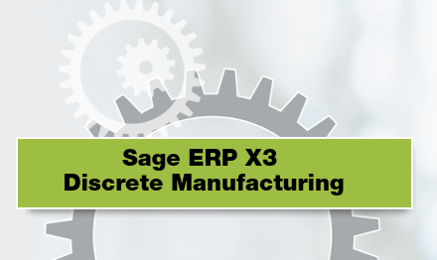 Sage ERP X3为离散型制造商带来的性能与好处