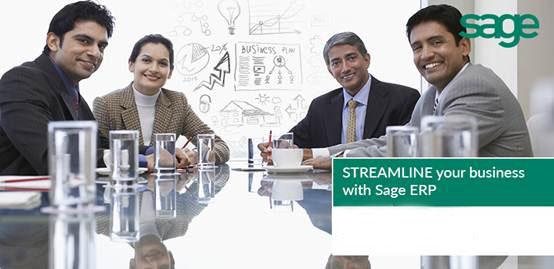Sage ERP为您精简企业