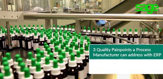 ERP为流程型制造商解决的三大质量痛点