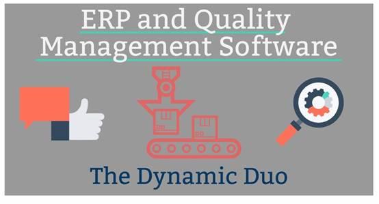 ERP与质量管理:双管齐下见奇效