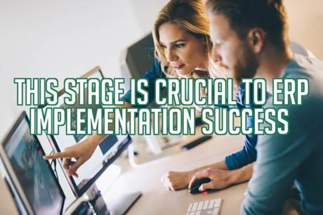ERP实施过程中的重要阶段
