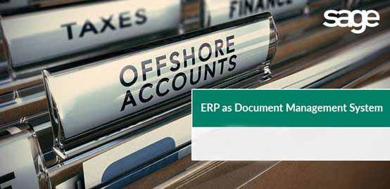ERP=文档管理系统