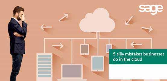 企业在云端常犯的五个错误