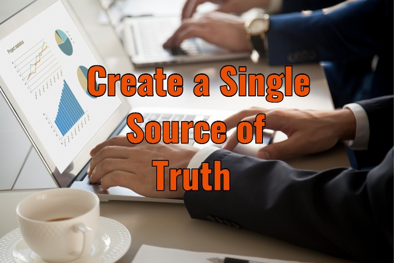 让集成化软件成为单一数据源