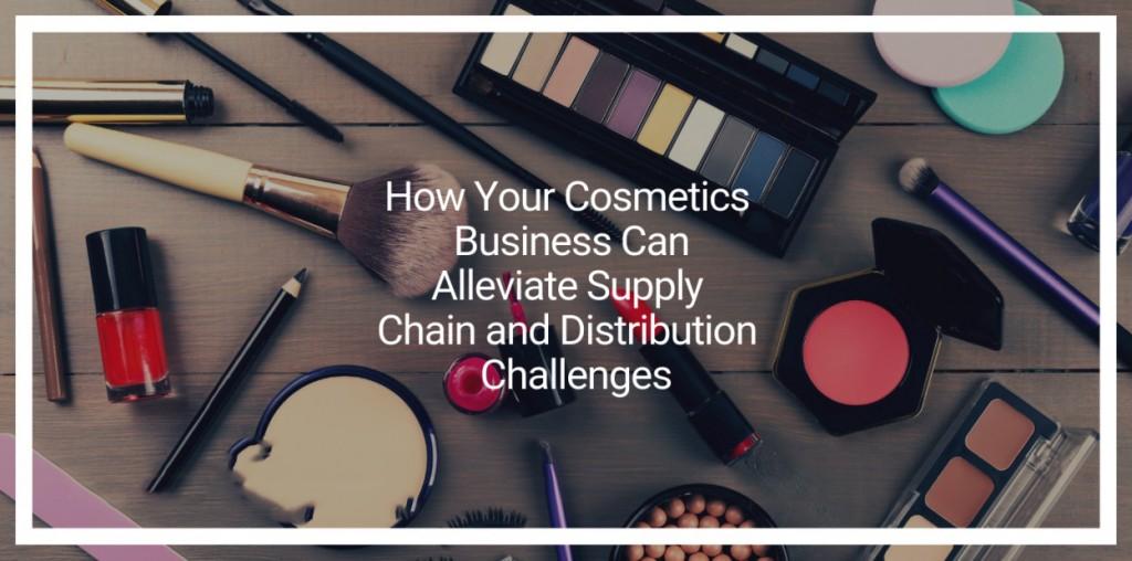 化妆品业务如何缓解供应链和分销挑战