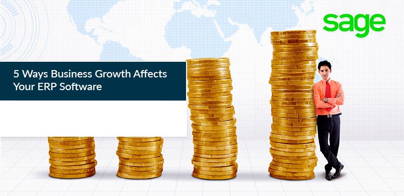 业务增长影响ERP软件的5个方面
